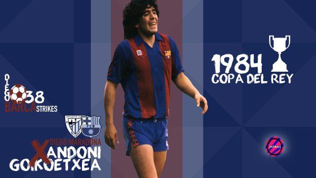 Barca Meats Diego Maradona - ZICOBALL