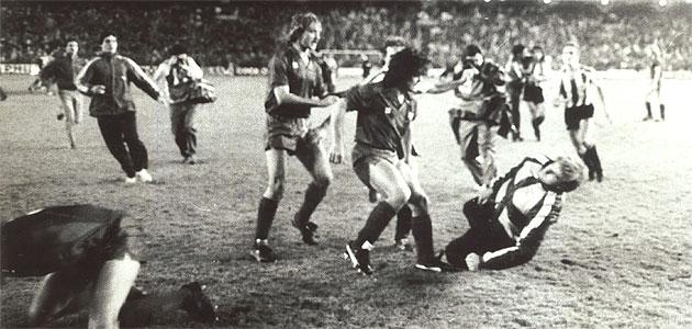 Maradona Cope Del Rey - Kung Fu Kick