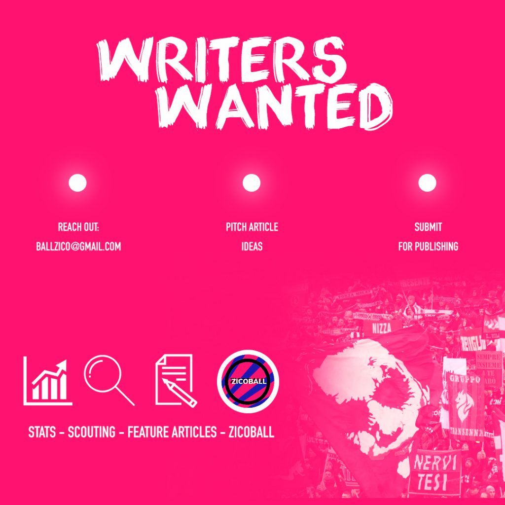 Football Writers Wanted