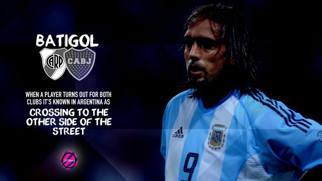 Gabriel Batistuta - Crossing The Street - ZICOBALL