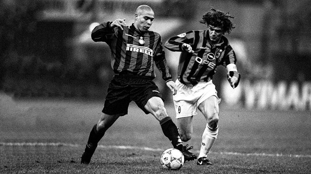 Ronaldo and Maldini.