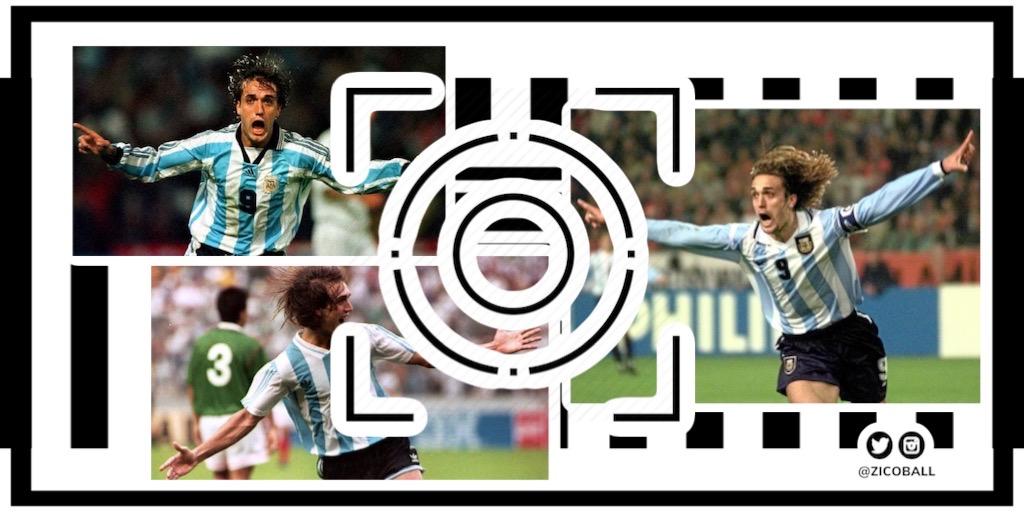 Gabriel Batistuta for Argentina
