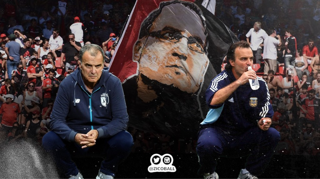 Marcelo Bielsa at LOSC Lille and Argentina.