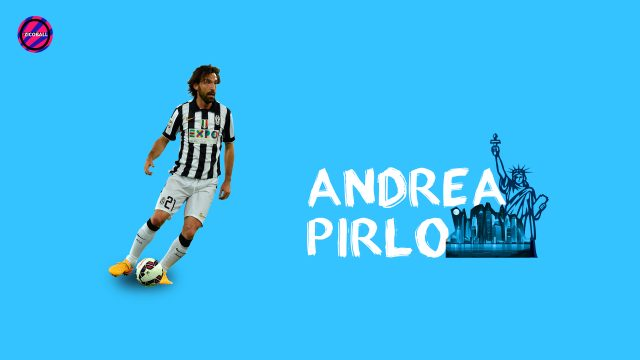 Andrea Pirlo Canvas - ZICOBALL