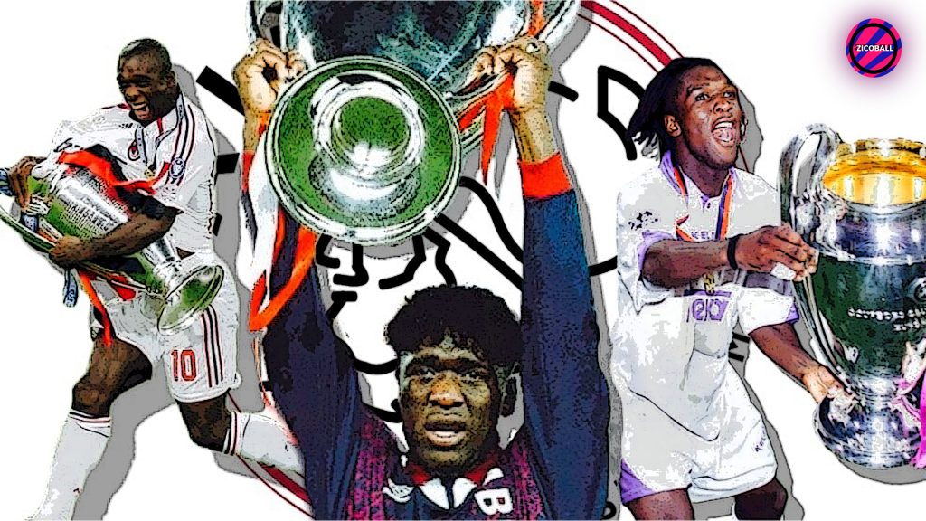 Clarence Seedorf - the boy from Suriname is royalty. European footballing royalty.
