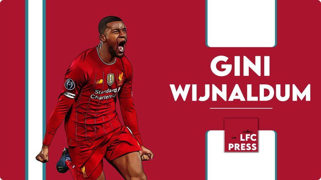 Gini Wijnaldum - theLFCpress