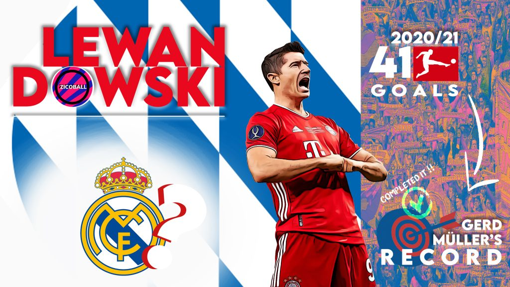 Lewandowski to Madrid Final - ZICOBALL