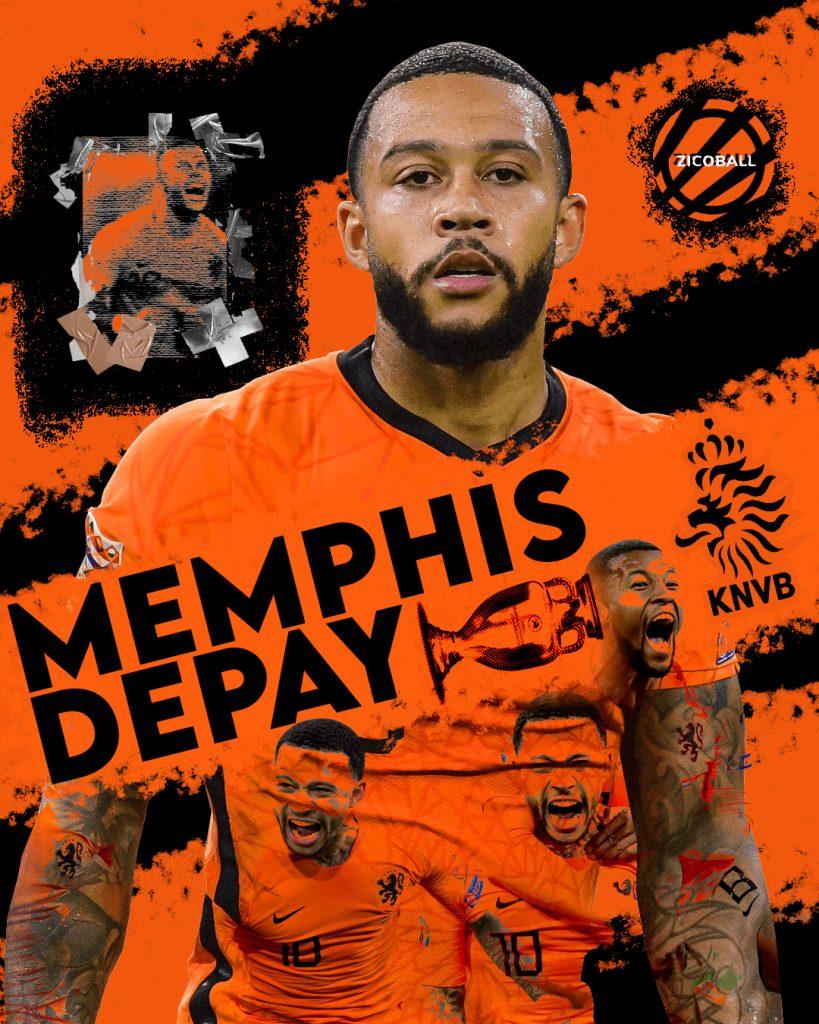 Euro 2020 Stats - Memphis Depay Montage